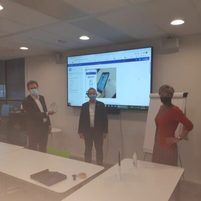 Deltares receives the Water Europe Digital Water Award 2020