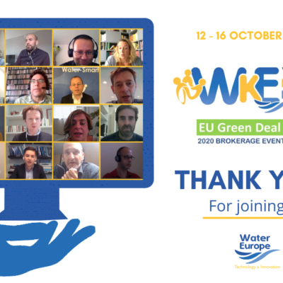 240 participants to Water Knowledge Europe Autumn Edition: EU Green Deal Call