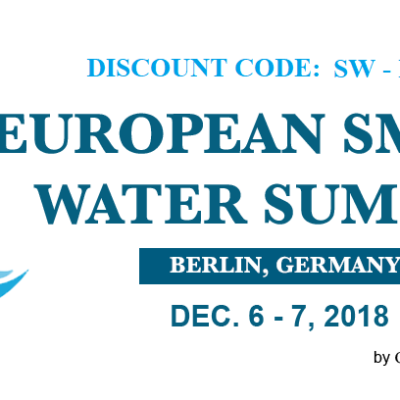 European Smart Water Summit on the 6th-7th December in Berlin, Germany