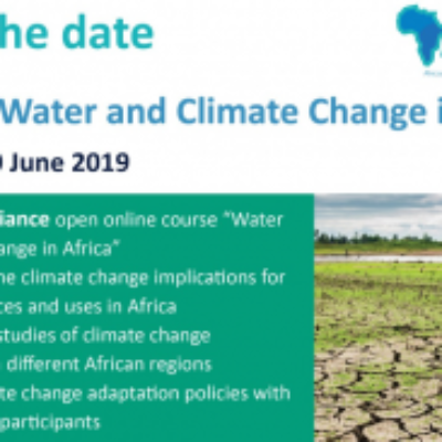 SAVE THE DATE: AfriAlliance MOOC on Water & Climate Change in Africa