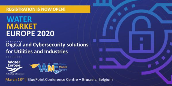 Water Market Europe 2020 now open for registration