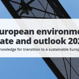 The European environment — state and outlook 2020 now published