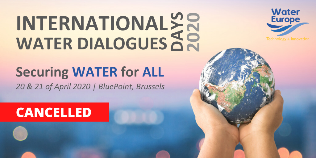 INTERNATIONAL WATER DIALOGUES CANCELLED