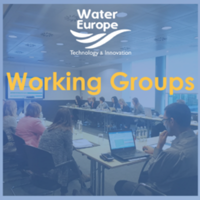Water Europe Working Groups Updates