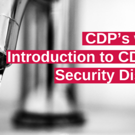 Webinar: Introduction to CDP water security disclosure
