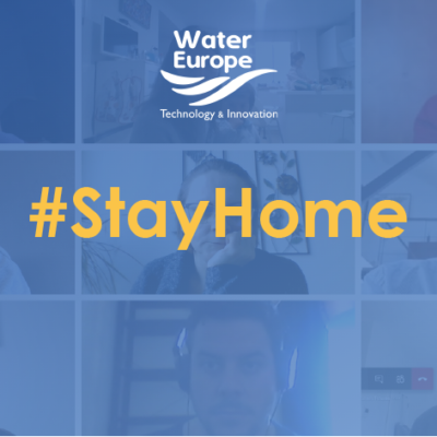 Water Europe's team works from home and joins the fight against the Coronavirus pandemic