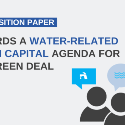 New Water Europe Position paper: 'Towards a water-related human capital agenda for the Green Deal'