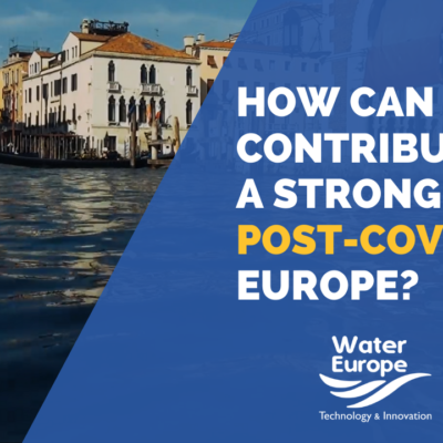 New Water Europe position paper on Post-COVID-19 Recovery Plan