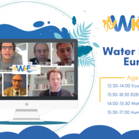 Water Projects Europe launched the 2nd day of the 2020 Water Knowledge event on the EU Green Deal call