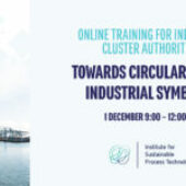 """Online Trainings for Cluster Authorities & Companies on """"Towards circularity and industrial symbiosis"""""""