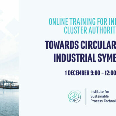 "Online Trainings for Cluster Authorities & Companies on ""Towards circularity and industrial symbiosis"""