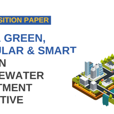 Water Europe position paper calls for achieving a circular, green and smart wastewater directive