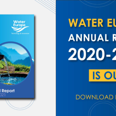 Water Europe Annual Report 2020-2021 is out!
