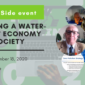 """EASME side event """"Building a water-smart economy and society"""" 18 November – 2020"""