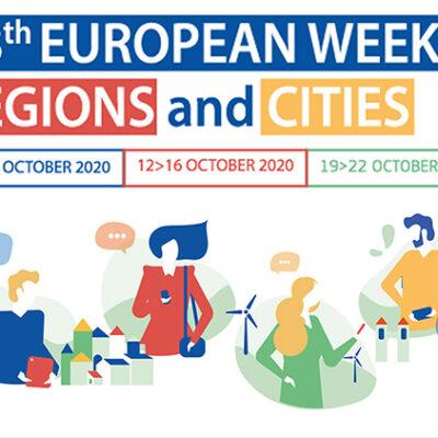 #EURegionsWeek 2020 spreads over three weeks in October