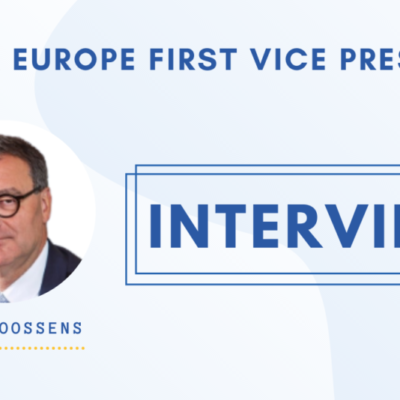 Hans Goossens, Water Europe First Vice-President talks to us about his election, priorities & steps ahead