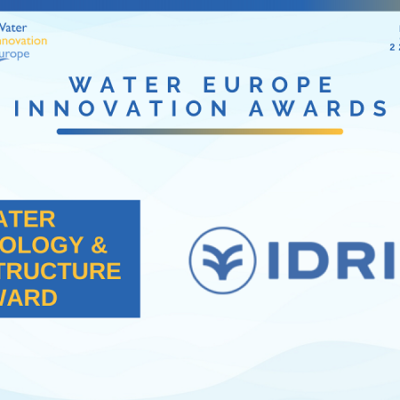 Winner of the day: Idrica – Water Technology & Infrastructure Award
