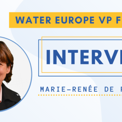 Interview with Marie-Renée de Roubin, Water Europe Vice-President for Finance