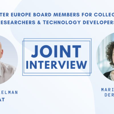 A joint interview with Mariëlle van der Zouwen & Richard Elelman – Water Europe Board Members for college B 'Researchers & Τechnology developers'