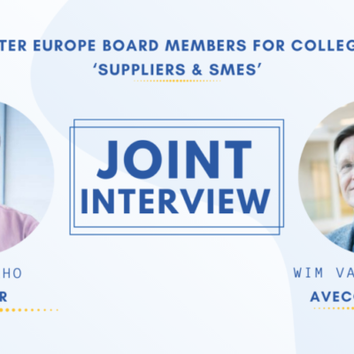 Joint Interview with Wim Van Vierssen & Ilari Aho – Water Europe Board Members for College D 'Suppliers & SMEs'