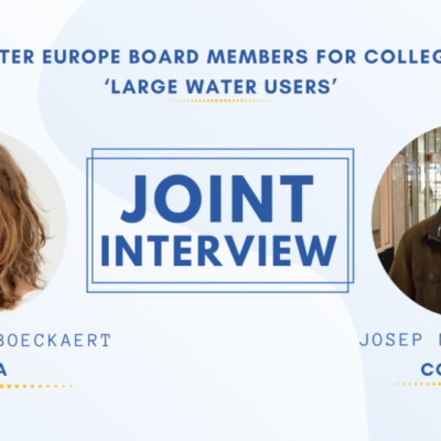 Joint interview with Charlotte Boeckaert & Josep Molas Pages, WE College E Board members