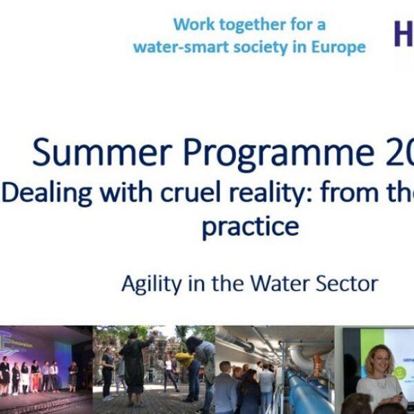 The European Junior Water Programme launches Summer Programme 2020