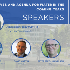 EU Commissioner for Environment joins the upcoming MEP Water Group Event – February 24