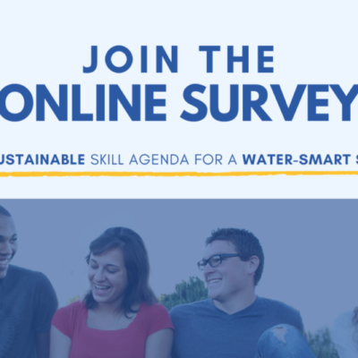 Join the online survey for a sustainable skills agenda for a Water-Smart society