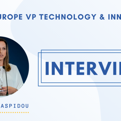 Innovation in the water sector is a lot less about technologies than what many people think' says Chrysi Laspidou, Water Europe Vice-President for Technology & Innovation