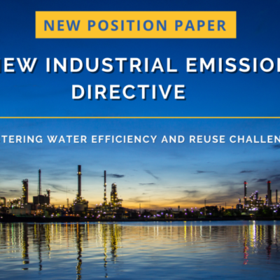 A New Industrial Emissions Directive: Mastering water efficiency and reuse challenges