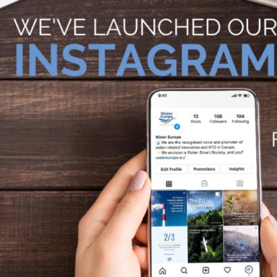 Water Europe is now on Instagram!