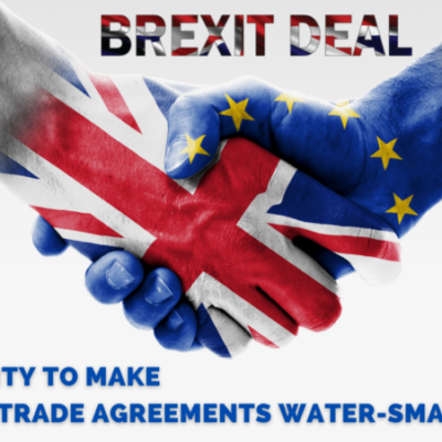 Release Position Paper-Brexit Deal: A missed opportunity to make European Trade Agreements Water-Smart