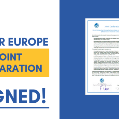 Exclusive joint declaration signed by Mayor of Mersin and WE President during our annual event