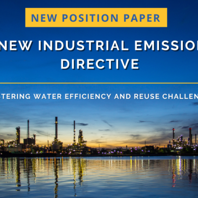 Water Europe Position Paper: A New Industrial Emissions Directive