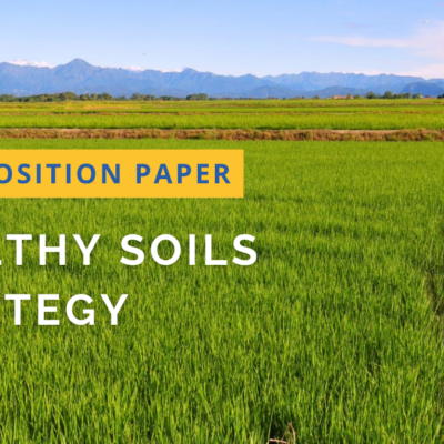 Release of Position Paper: Building on the Water-Soil Nexus for an integrated & Circular Economy