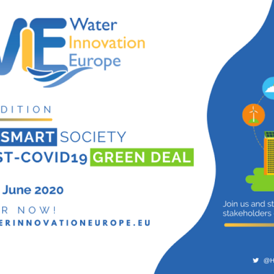 Join our Innovative Water Week online: Water Innovation Europe 2020