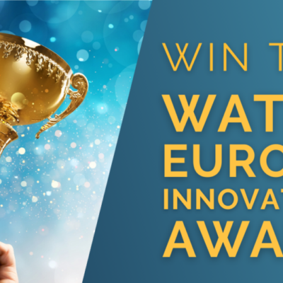 Win your Award at Water Innovation Europe 2021 coming up on June 14-18
