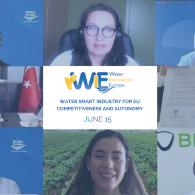 Wrapping up the day 2 of Water Innovation Europe