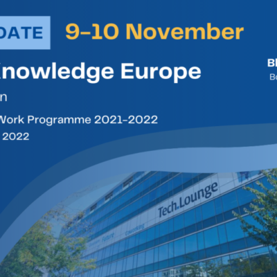 Water Knowledge Europe Autumn Edition 2021 returns in its physical format in November
