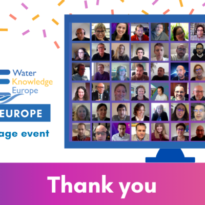 200 participants to Water Knowledge Europe Winter Edition: Horizon EU 2020