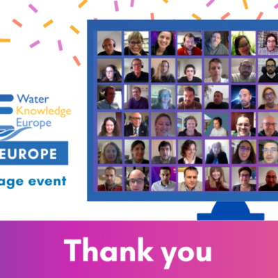Water Knowledge Europe 2020 Horizon EU has concluded
