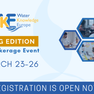 Registration is now open for Water Knowledge Europe 2021 Spring Edition