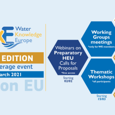 Water Knowledge Europe 2021 is coming back with a new format