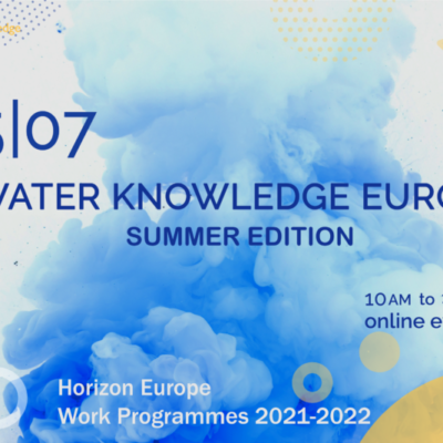 Water Knowledge Europe 2021 – Summer edition is coming up on July 18!