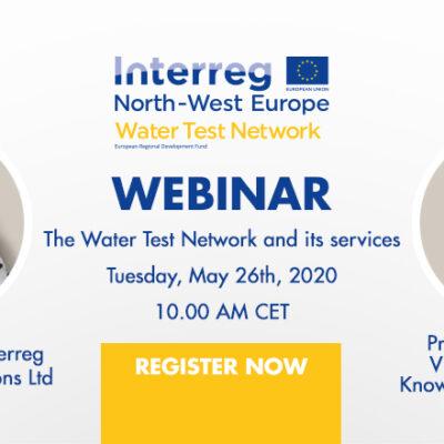 Water Test Network project hosting first free international webinar