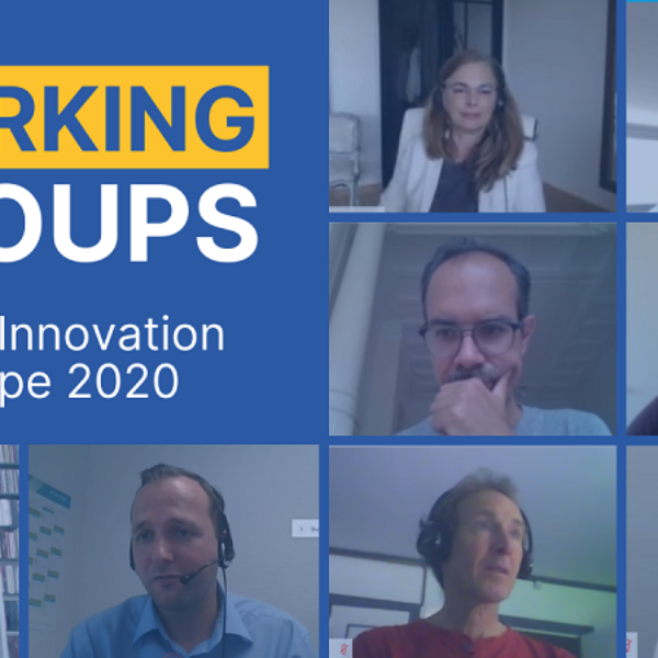 Water Europe Working Groups Updates from Water Innovation Europe 2020