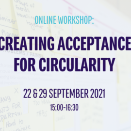 New Workshops ZEROBRINE will discuss the effects of circularity on business and society