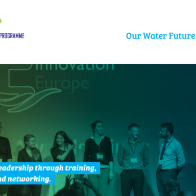 The European Junior Water Programme 3 is open for registrations!