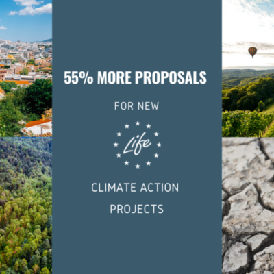 New LIFE climate action projects: applicants seek nearly €500 million in EU funding
