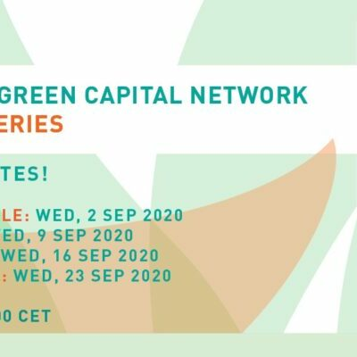 European Green Capital Network (EGCN) will host webinar series open to all cities